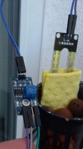 Billig Feuchtigkeitssensor aus China, mehr Funktionen als der Seeed Studio Grove - Feuchtigkeitssensor und hält genauso lang