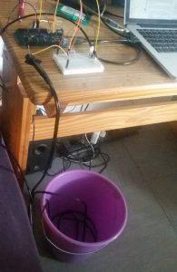 Arduino Versuchsaufbau mit EC und Temperatursensor